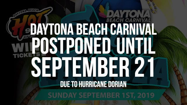 Soca palooza Daytona Beach Carnival postponed until Sept. 21