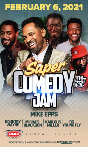 Super Comedy Jam with Mike Epps