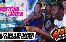 Daytona Lagoon Win tickets from HOT 94.1