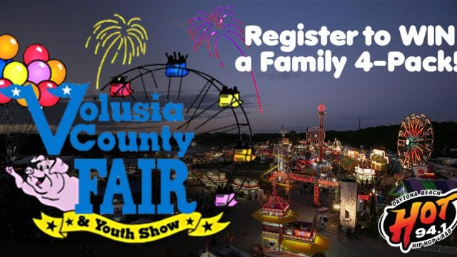 Register To Win Tickets to the Volusia County Fair from HOT 94.1
