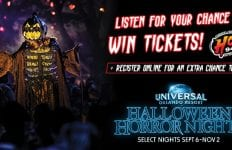 HOT 94.1's 2019 Halloween Horror Nights at Universal Orlando Resort Sweepstakes