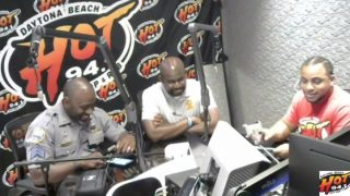 Red K Talks With Deputy Chief Jakari Young About The Police