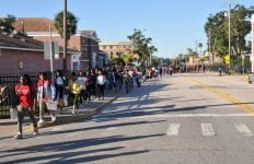 Bethune Cookman University Voting March Photo