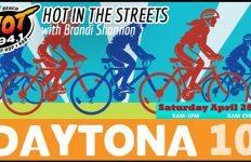 Daytona 100 Bike Ride - Brandi Shannon Hot In The Streets