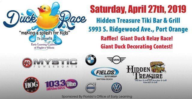 Duck Race at Hidden Treasure