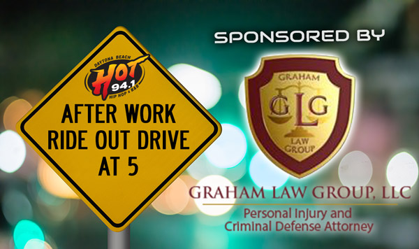 HOT After work drive at 5 sponsored by Graham Law Group, LLC