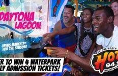 Daytona Lagoon Win tickets from HOT 94.1