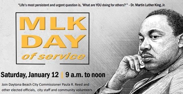 MLK Day of Service January 12, 2019