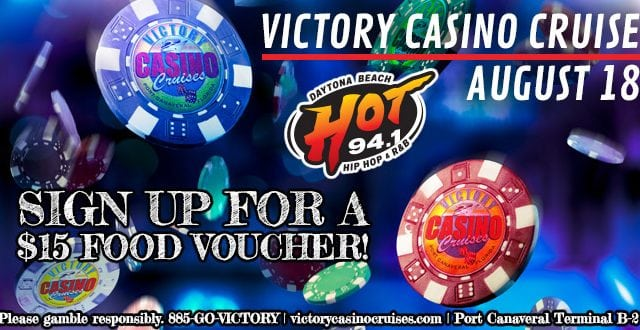 Victory Casino Cruise food voucher giveaway