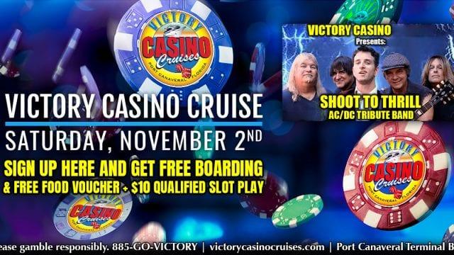 November 2nd Victory Casino Cruise