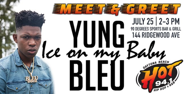 Meet and Greet Yung Bleu
